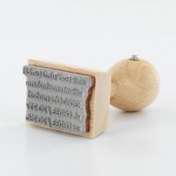 Holzstempel 1050